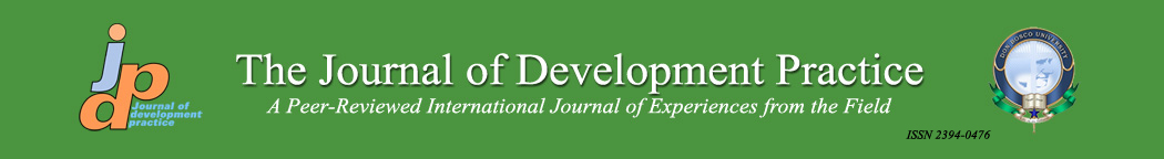 The Journal of Development Practice: A Peer-Reviewed International Journal of Experiences from the Field